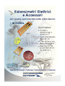 Pocket Brochure - Estensimetri Elettrici e Accessori