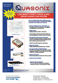 LOW DENSITY PARITY CHECK (LDPC) ERROR CORRECTION SYSTEM
