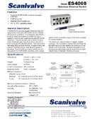 Datasheet Ethernet Switch ES4008