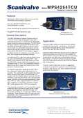 Datasheet MPS4264TCU - Thermal Control Unit